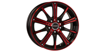 RIMFIRE GLOSS BLACK/CANDY APPLE RED